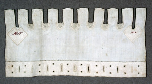 Sewing Sampler, 1981-28-201, 1824