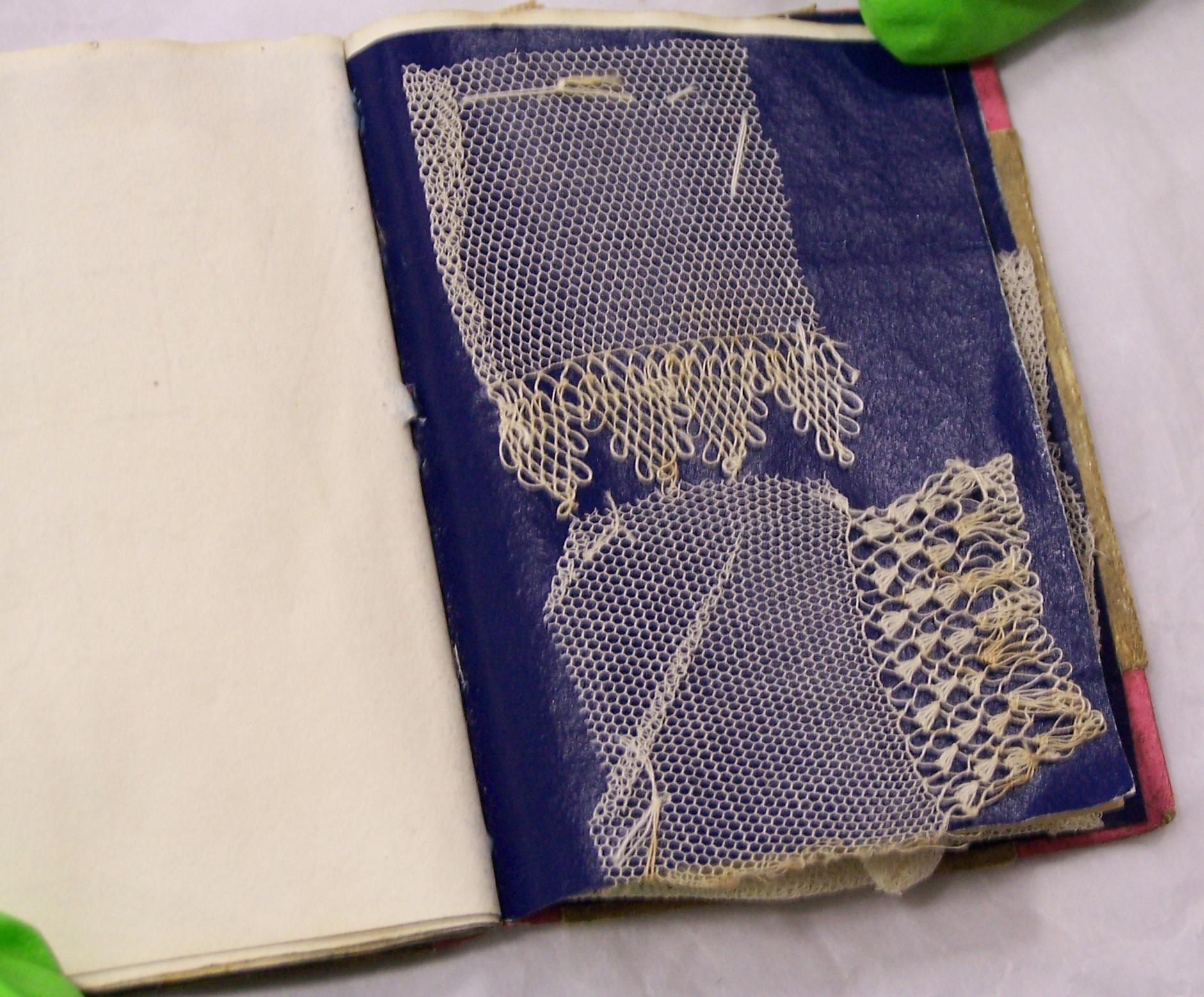 Lace booklet - Fitzwilliam Museum, Cambridge, England Photo: Julie Buck