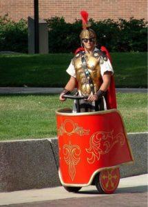 Roman segway